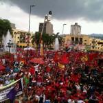 Concentración en Caracas
