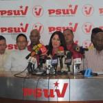 Cilia Flores anunció a los miembros de los Equipos Políticos de Trabajo Estadal junto a los Vicepresidentes Regionales del PSUV.