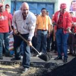 Cumpliendo la promesa de Chávez, más de 230 mil toneladas de asfalto cubrirán las calles de Carabobo.