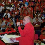 Francisco Ameliach, candidato a la Gobernación de Carabobo, se reunió con el CCC en Valencia.
