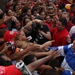 Presidente Chávez con su pueblo