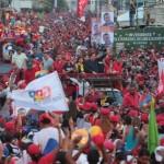 Chávez en Charallave