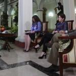 Entrevista Presidente Chávez