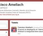 Francisco Ameliach Twiter