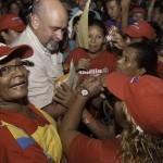 Francisco con el pueblo