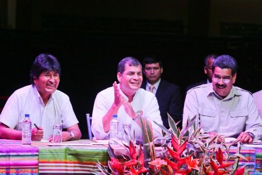 La ALBA es la alianza de pueblos y gobiernos revolucionarios