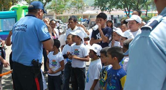 Actividad de la Policia de Carabobo