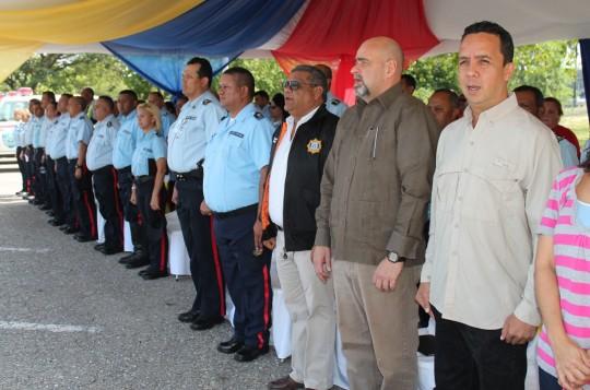 Dotacion patrullas y motos Poli Carabobo