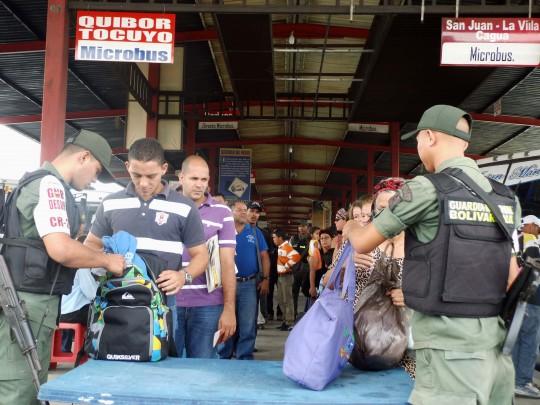 Gobierno Bolivariano de Carabobo instaló  puntos de atención en Terminal Big Low Center