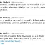 Presidente Nicolas Maduro pidió unión para la Gran Victoria Popular del 8D
