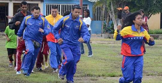 Con éxito arrancó la I Olimpiadas Comunales de la Parroquia Miguel Peña