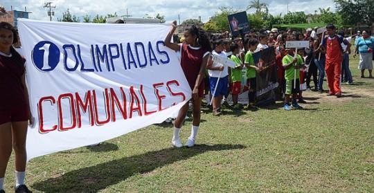 Olimpiadas Comunales de la Parroquia Miguel Peña