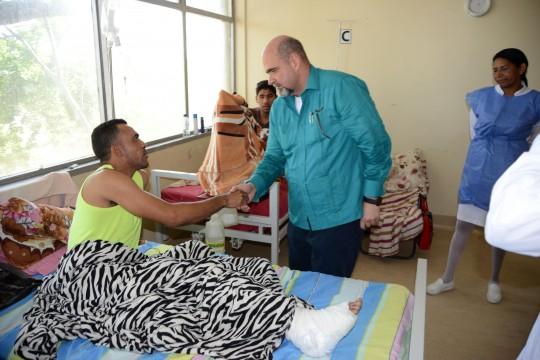 Gobernador Ameliach recibió Bs 21 millones  para rehabilitar Hospital Dr. Adolfo Prince Lara