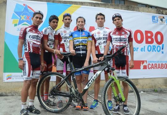 Ciclismo todo terreno carabobeño con la mira en oro de JDNJ