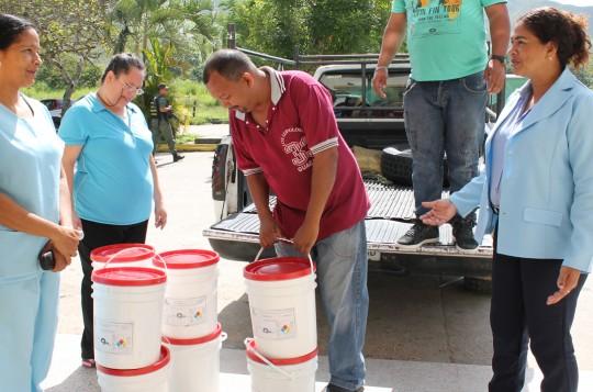 Realizada jornada conjunta de recuperación del hospital Dr. González Plaza