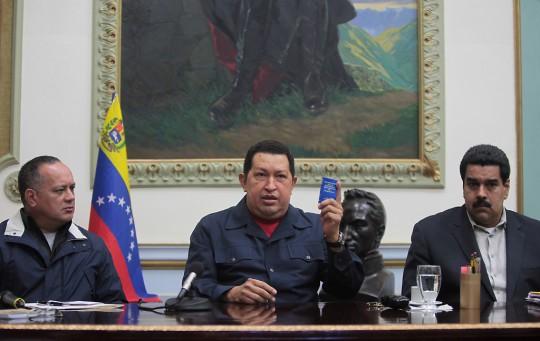 """LA REFLEXIÓN Y EL MANDATO DEL """"COMANDANTE SUPREMO"""" HUGO CHÁVEZ"""