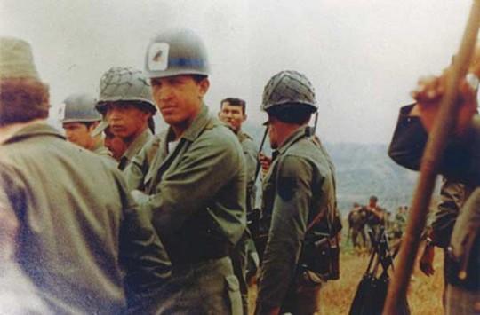 Chávez cadete de la casa de los sueños azules