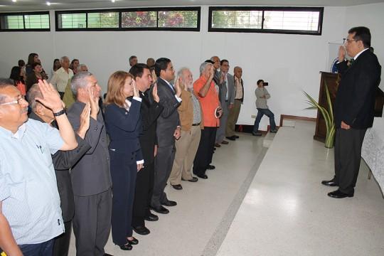 juramentacion nueva directiva asociacion esritores caraboboo