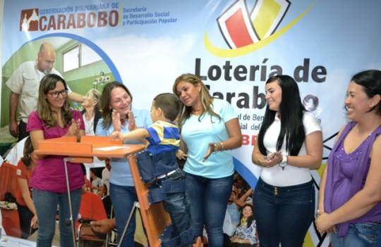 Lotería de Carabobo ha invertido  más de Bs. 143 mil en ayudas técnicas