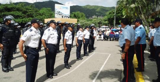 Segundo Curso de Oficiales de la PC  graduará 135 nuevos funcionarios