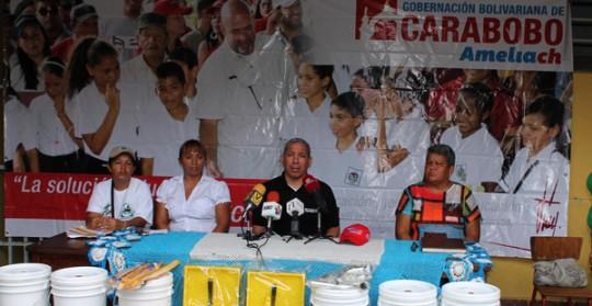 Gobierno Bolivariano de Carabobo rehabilita escuelas estadales