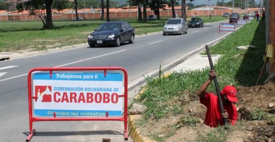 Gobierno Bolivariano de Carabobo está trabajando en San Diego