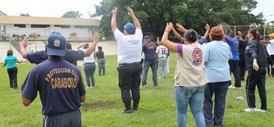 Protección Civil Carabobo dignifica  a sus trabajadores con jornadas integrales