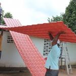 Beneficiadas 521 familias carabobeñas  con sustitución de techos de asbesto