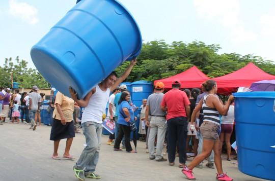 Familias de Brisas del Hipódromo tienen mejor servicio de agua
