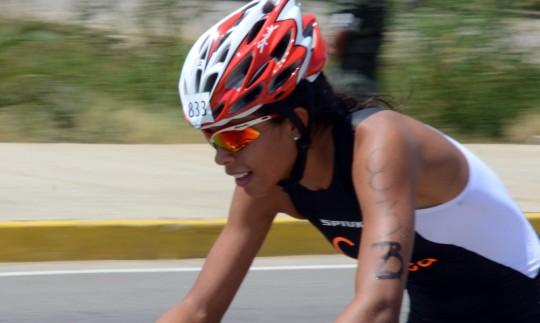 Carabobeña Joselyn Brea buscará imponerse en Panamericano de Duatlón.