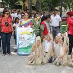 conmemoracion dia resistecia indigena plaza Bolivar Naguanagua