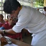 Atendidas más de 200 personas  en jornadas de medicina integral