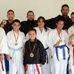 Karatecas vinotintos con diversidad funcional lograron cupo a Nacional
