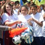 Ameliach continúa promoviendo  masificación deportiva en la entidad