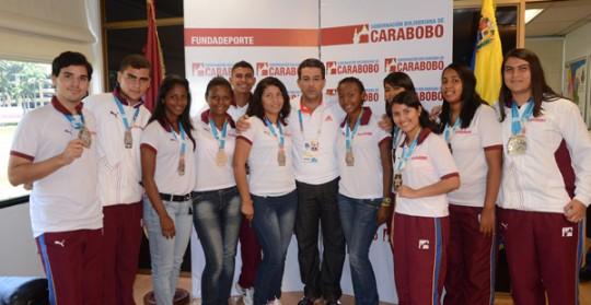 Gobernación Bolivariana entregó  100% de premios a atletas carabobeños