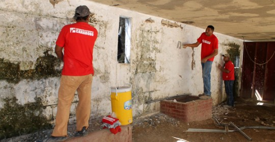 Gobierno regional arrancó trabajos  de rehabilitación en Plaza de Toros