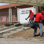 Recuperan áreas abandonadas  del Oncológico Pérez Carreño