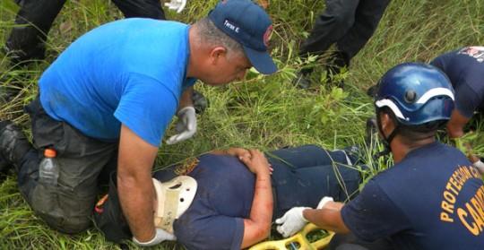 Protección Civil Carabobo capacita  constantemente a su personal