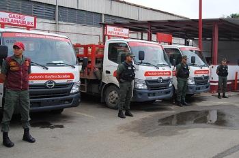 Militarizada distribución de gas doméstico  por solicitud de gobernador Ameliach