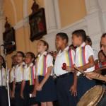 Niños de escuelas estadales continúan celebrando la navidad
