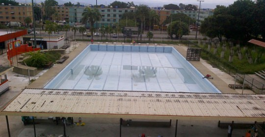 Iniciada rehabilitación de Complejo de Piscinas La Isabelica