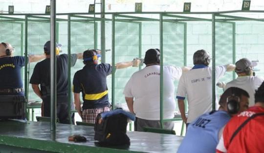 Carabobo sede del Campeonato Nacional de Tiro Deportivo