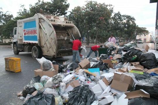 Gobernación recogió en Valencia 100 toneladas de desechos navideños