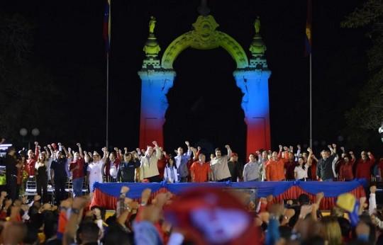 Chavismo cuenta con mayoría absoluta en autoridades regionales y locales