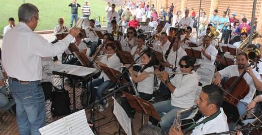 Banda Sinfónica 24 de Junio ofreció  concierto en cierre de Metrocultura