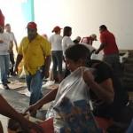 Más de 300 trabajadores de Insalud beneficiados con Mercal Obrero