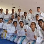 Karatecas con diversidad funcional recibieron ascensos