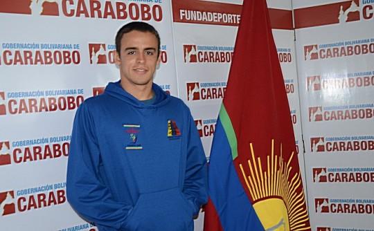Luis Bolaños:  gobierno de Ameliach apoya  y motiva a atletas carabobeños