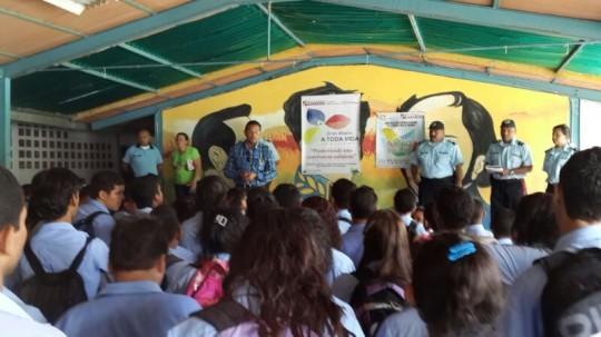 Gobierno Bolivariano de Carabobo  refuerza valores en escuelas