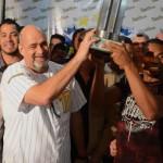 Gobernador sostuvo ameno encuentro con jugadores del Magallanes